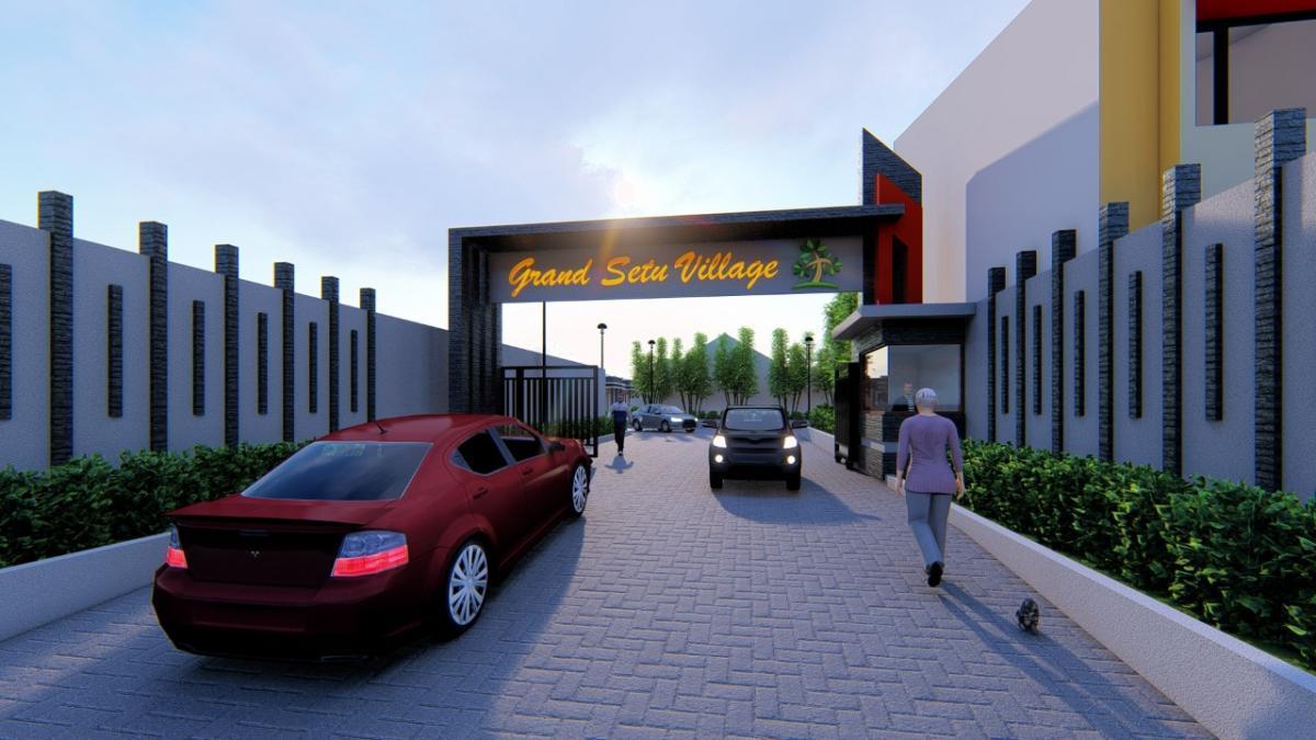 Pintu Gerbang Perumahan Grand Setu Village